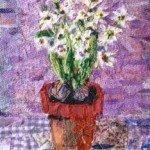 white hyacinth 10ins x 12 £95